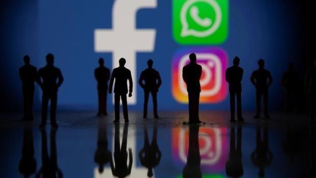 Caen servicios de Facebook: WhatsApp, Instagram y Facebook